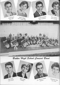 The S. R. Butler Concert Band 1953 - 1956