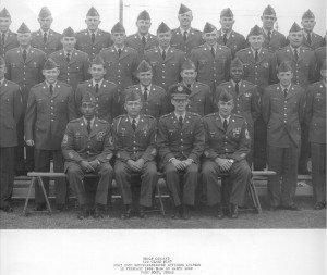 Donald McElyea, NCO Academy, Ft. Hood, TX