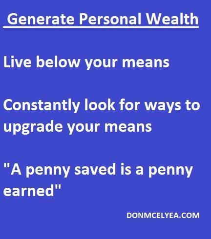 DonMcElyea.Com Wealth Generation